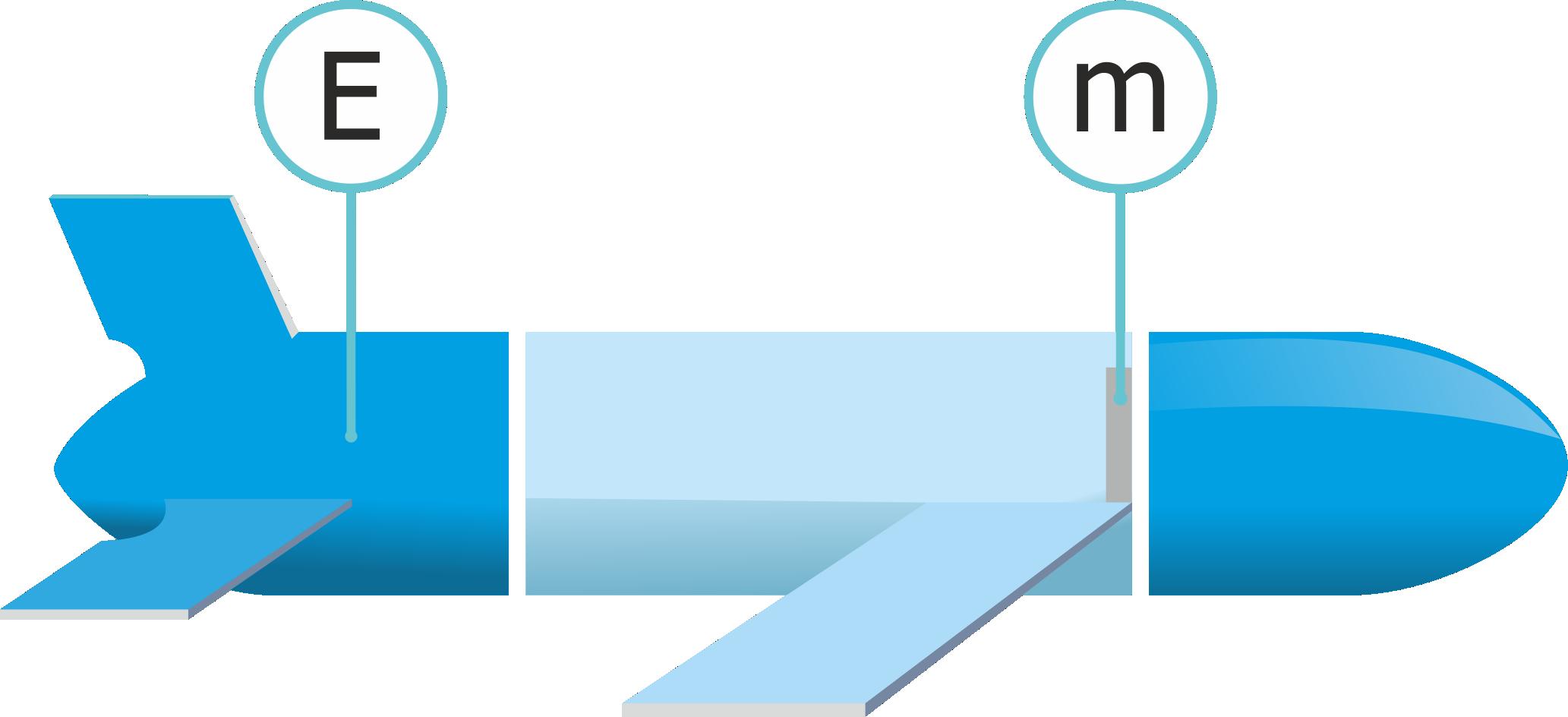 Схема расположение исполнительных механизмов в подводном глайдере